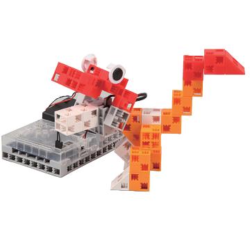 exemple de robot dinosaure